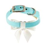 View Image 2 of Tiffi's Gift Luxury Dog Collar by Susan Lanci - Tiffi Blue