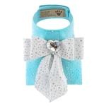 View Image 1 of Tiffi's Gift Bailey Dog Harness with Silver Stardust by Susan Lanci - Tiffi Blue