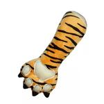 View Image 1 of Tiger Claw Plush Dog Toy by Hip Doggie