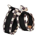 View Image 2 of Tinkie Dog Harness with Windsor Big Bow & Trim by Susan Lanci - Black