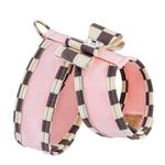 View Image 2 of Tinkie Dog Harness with Windsor Big Bow & Trim by Susan Lanci - Puppy Pink