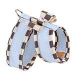 View Image 2 of Tinkie Dog Harness with Windsor Big Bow & Trim by Susan Lanci - Puppy Blue