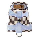 View Image 1 of Tinkie Dog Harness with Windsor Big Bow & Trim by Susan Lanci - Puppy Blue
