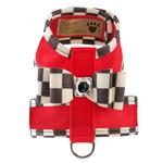 View Image 1 of Tinkie Dog Harness with Windsor Big Bow & Trim by Susan Lanci - Red