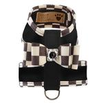 View Image 1 of Tinkie Dog Harness with Windsor Big Bow & Trim by Susan Lanci - Black