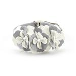 View Image 1 of Tinkie's Garden Special Occasion Dog Collar by Susan Lanci - Platinum