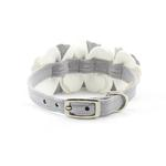 View Image 2 of Tinkie's Garden Special Occasion Dog Collar by Susan Lanci - Platinum