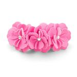 View Image 1 of Tinkie's Garden Dog Collar by Susan Lanci - Perfect Pink