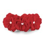 View Image 1 of Tinkie's Garden Dog Collar by Susan Lanci - Red