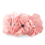 View Image 1 of Tinkie's Garden Dog Collar by Susan Lanci - Puppy Pink