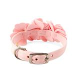 View Image 2 of Tinkie's Garden Dog Collar by Susan Lanci - Puppy Pink