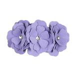 View Image 1 of Tinkie's Garden Dog Collar by Susan Lanci - French Lavender