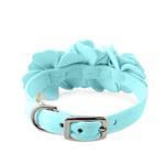 View Image 2 of Tinkie's Garden Dog Collar by Susan Lanci - Tiffi Blue