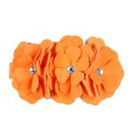 View Image 1 of Tinkie's Garden Series Dog Collar by Susan Lanci - Tangerine