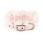 View Image 2 of Tinkie's Garden Special Occasion Dog Collar by Susan Lanci - Puppy Pink