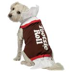 View Image 1 of Tootsie Roll Dog Costume by Rasta Imposta