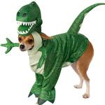 View Image 1 of Toy Story Walking Rex Dog Costume by Rubies