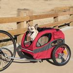 View Image 2 of Houndabout Dog Bicycle Trailer by PetSafe - Medium