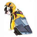 View Image 1 of Transformers Deluxe Bumble Bee Halloween Dog Costume