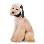 View Image 1 of Trapper Dog Hat by Dogo - Black Denim