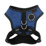 View Image 1 of Trek Snugfit Dog Harness by Puppia Life - Royal Blue