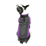 View Image 6 of Trekking Dog Jacket by Gooby - Purple