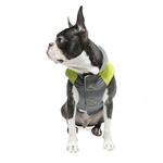View Image 5 of Trekking Dog Jacket by Gooby - Lime Green