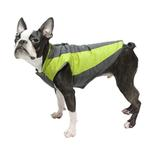 View Image 4 of Trekking Dog Jacket by Gooby - Lime Green