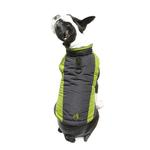 View Image 6 of Trekking Dog Jacket by Gooby - Lime Green