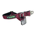 View Image 1 of Tri-Style Metal Latch Dog Collar by Cycle Dog - Red