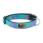 View Image 1 of Tropical Paisley Adjustable Clip Dog Collar by RC Pet