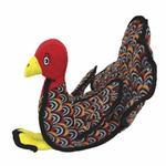 View Image 3 of Tuffy Barnyard Dog Toy - Talulah the Turkey