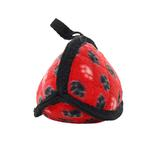 View Image 2 of Tuffy Dog Toys - Jr Odd Ball Red