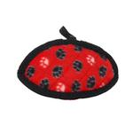 View Image 3 of Tuffy Dog Toys - Jr Odd Ball Red