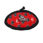 View Image 1 of Tuffy Dog Toys - Jr Odd Ball Red