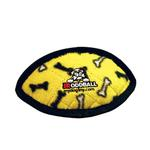 View Image 1 of Tuffy Jr Oddball Dog Toy - Yellow Bones