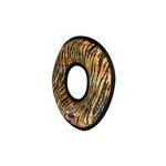View Image 3 of Tuffy Dog Toys - Mega Ring Tiger Print