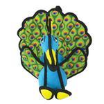 View Image 2 of Tuffy Dog Toys - Peyton the Peacock