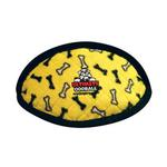 View Image 1 of Tuffy Dog Toys - Ultimate Odd Ball Yellow Bones
