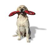 View Image 2 of Tuffy Ultimate Tug-O-War Dog Toy - Red Paw Print