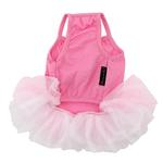 View Image 3 of Tutu Heart Dog Dress by Parisian Pet - Pink