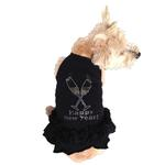 View Image 1 of Toast the New Year Rhinestone Dog Dress by The Dog Squad