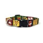 View Image 1 of Twelve Days of Christmas Dog Collar by Yellow Dog
