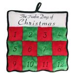 View Image 1 of Twelve Days of Christmas Squeaker Mat Dog Toy