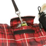 View Image 2 of Ultra Paws Comfort Reflective Dog Coat - Red Plaid