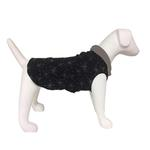 View Image 1 of Ultra Paws Doga Tog Single Fleece Dog Pullover - Starry Black