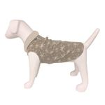 View Image 1 of Ultra Paws Doga Tog Single Fleece Dog Pullover - Starry Tan