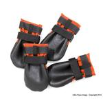 View Image 2 of Ultra Paws Rugged Dog Boots - Orange