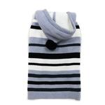 View Image 1 of Uneven Stripes Sweater by Dogo - Black