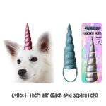 View Image 2 of Unicorn Horn Dog Hat - Magic Pink
